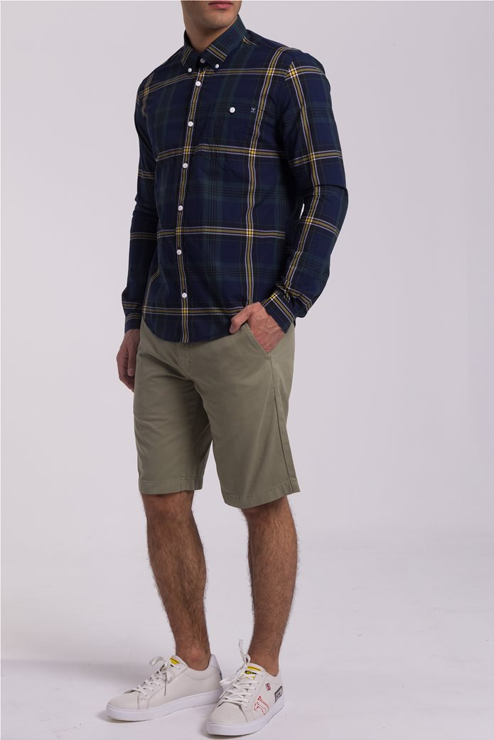 Barbour ανδρικό πουκάμισο καρό 3