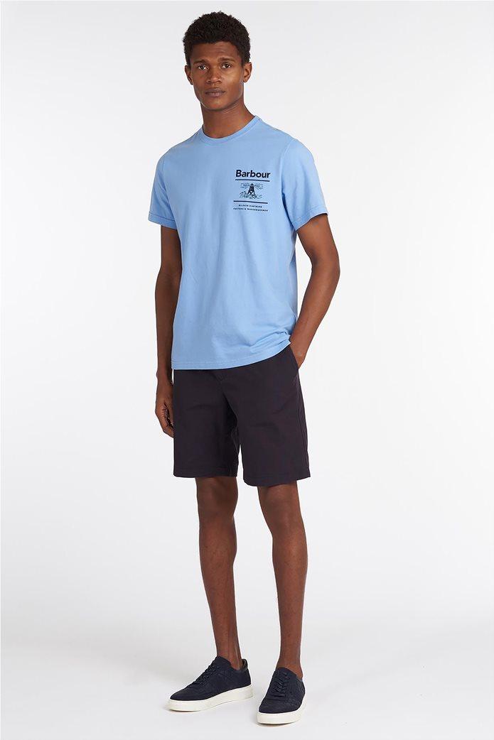 Barbour ανδρικό T-shirt με logo print ''Chanonry'' 1