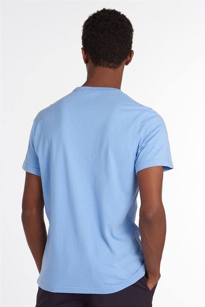 Barbour ανδρικό T-shirt με logo print ''Chanonry'' 2