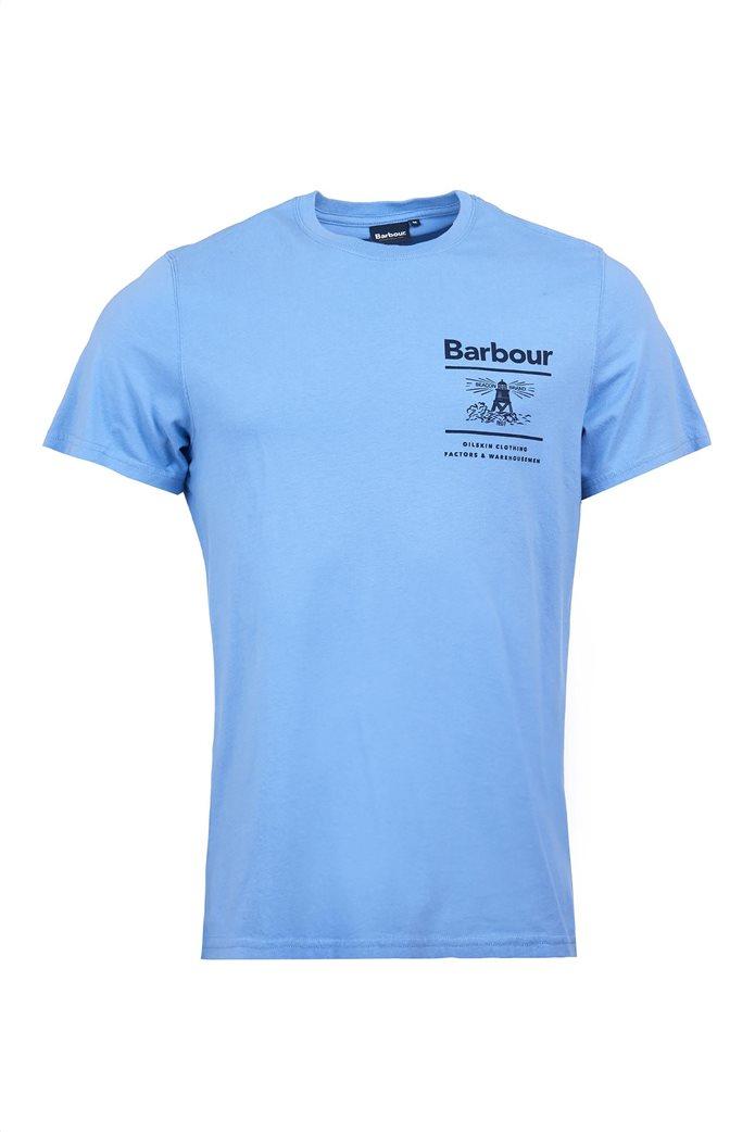 Barbour ανδρικό T-shirt με logo print ''Chanonry'' 3