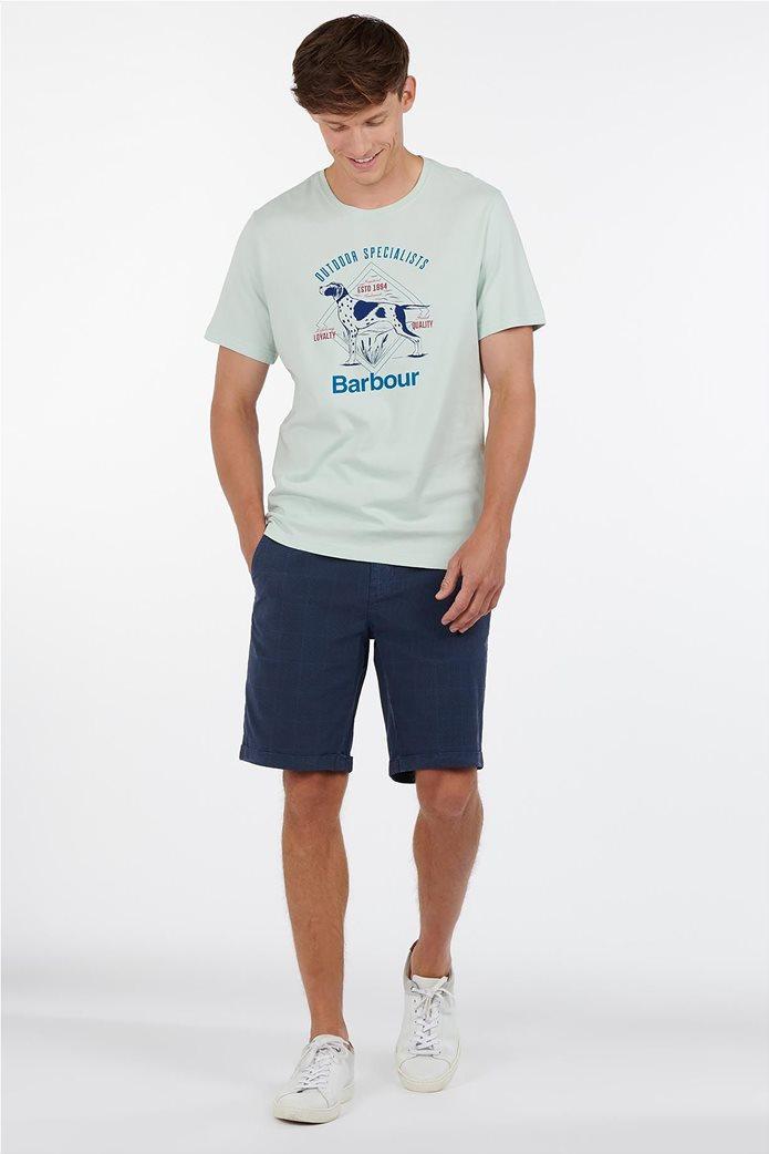 "Barbour ανδρικό T-shirt με print ""Loyal"" 1"