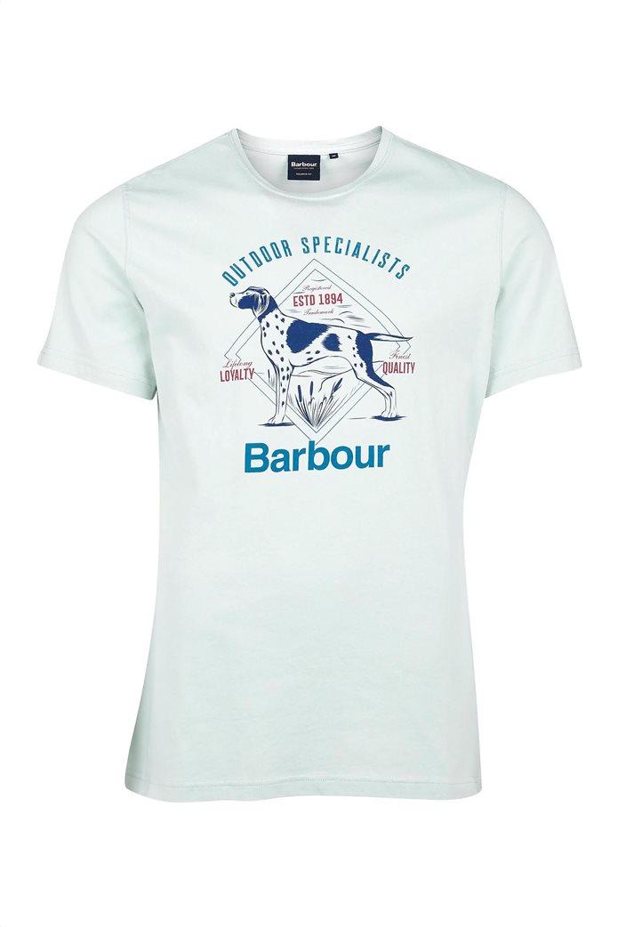 "Barbour ανδρικό T-shirt με print ""Loyal"" 3"