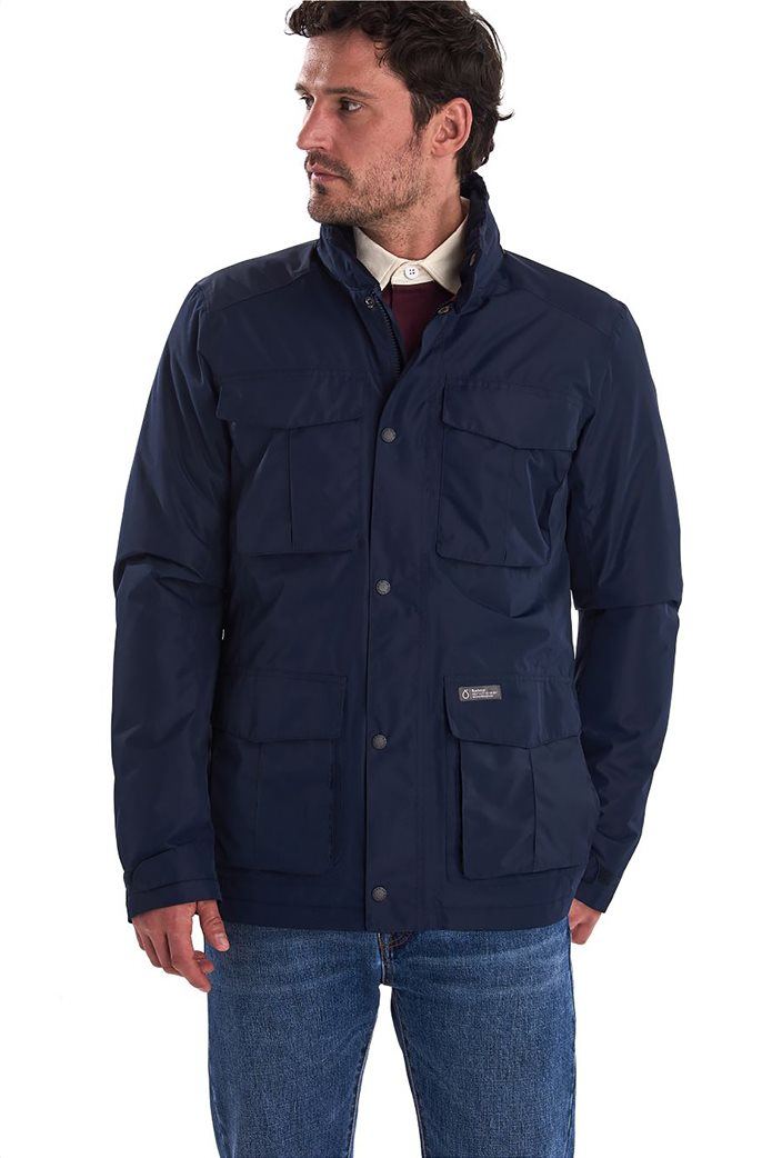 "Barbour ανδρικό μπουφάν με flap τσέπες ""Hexham Waterproof"" 0"