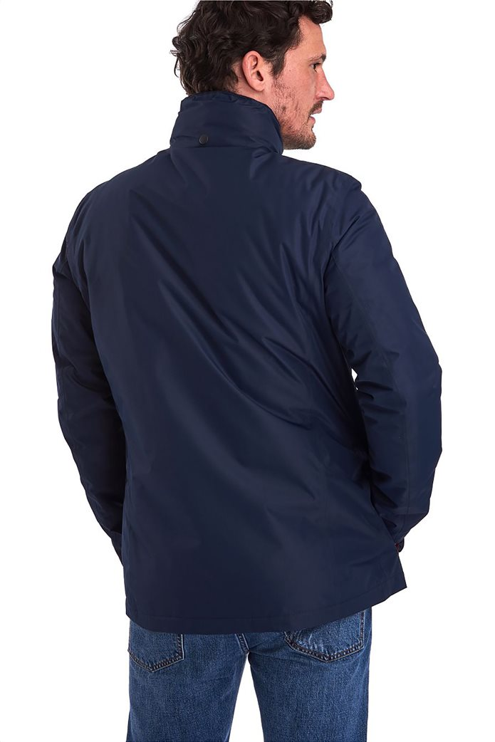 "Barbour ανδρικό μπουφάν με flap τσέπες ""Hexham Waterproof"" 1"