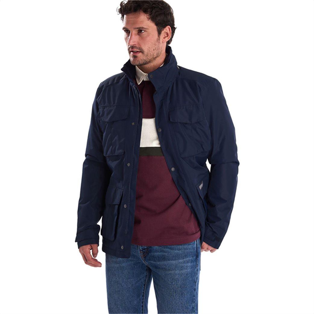 "Barbour ανδρικό μπουφάν με flap τσέπες ""Hexham Waterproof"" 2"