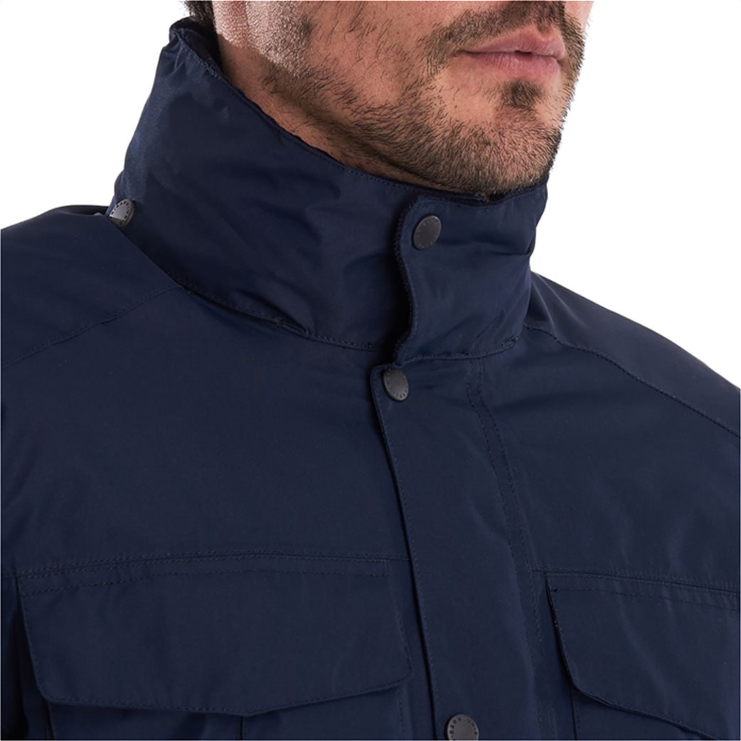 "Barbour ανδρικό μπουφάν με flap τσέπες ""Hexham Waterproof"" 3"