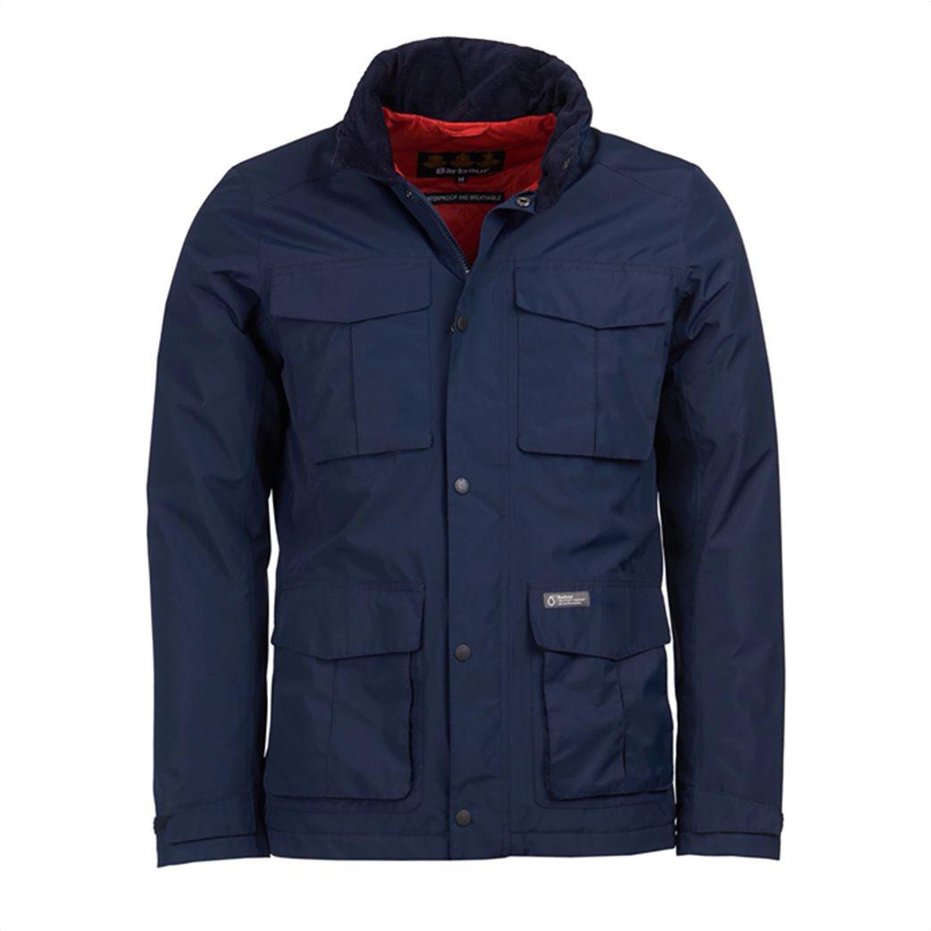 "Barbour ανδρικό μπουφάν με flap τσέπες ""Hexham Waterproof"" 5"