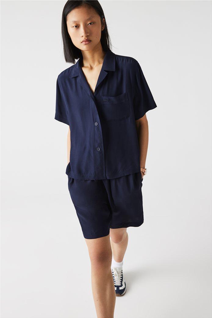 Lacoste γυναικείο πουκάμισο Hawaiian Fit 1