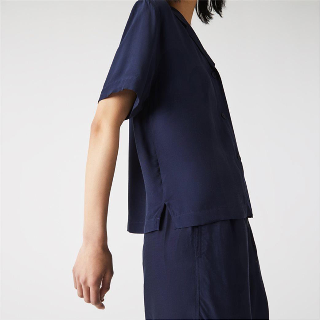 Lacoste γυναικείο πουκάμισο Hawaiian Fit 4