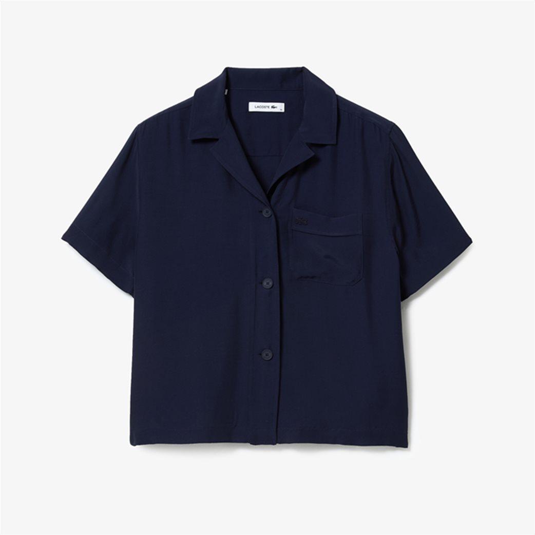 Lacoste γυναικείο πουκάμισο Hawaiian Fit 5