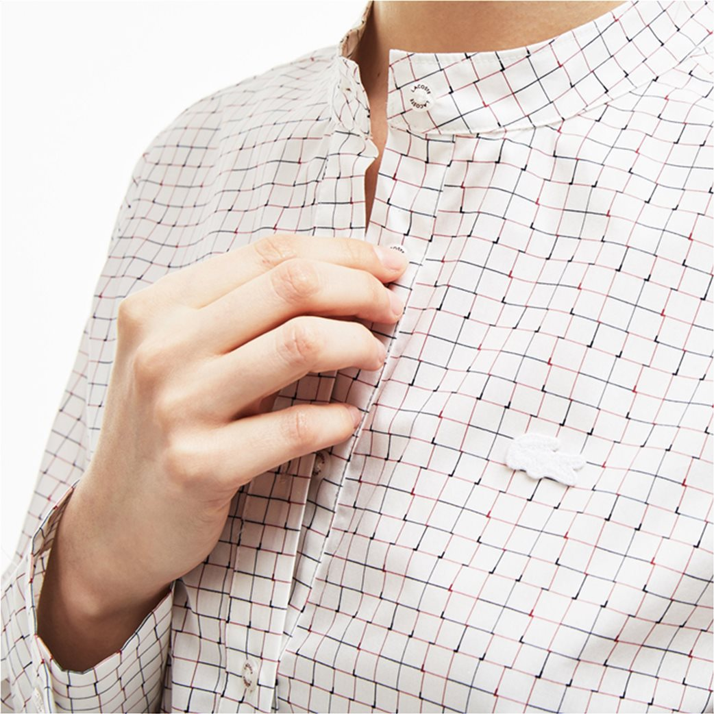f8d668095c5c Lacoste γυναικείο πουκάμισο με καρό print 2