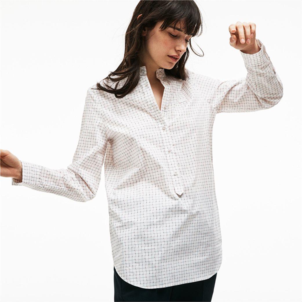 7404934df426 Lacoste γυναικείο πουκάμισο με καρό print 3