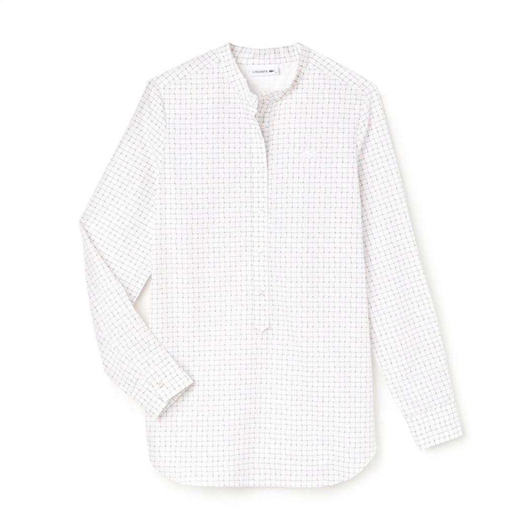 222bdeff9543 Lacoste γυναικείο πουκάμισο με καρό print 6