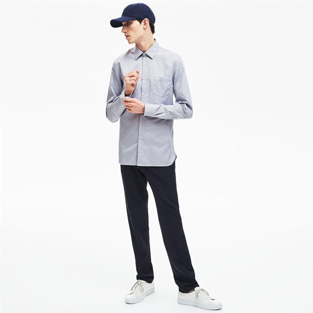 7bec75735098 Lacoste ανδρικό πουκάμισο Texturized Poplin Regular Fit 3