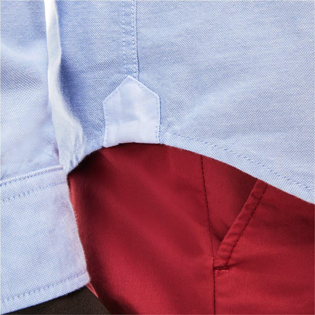 Ανδρικό πουκάμισο μονόχρωμο Spring Bloom Lacoste 2