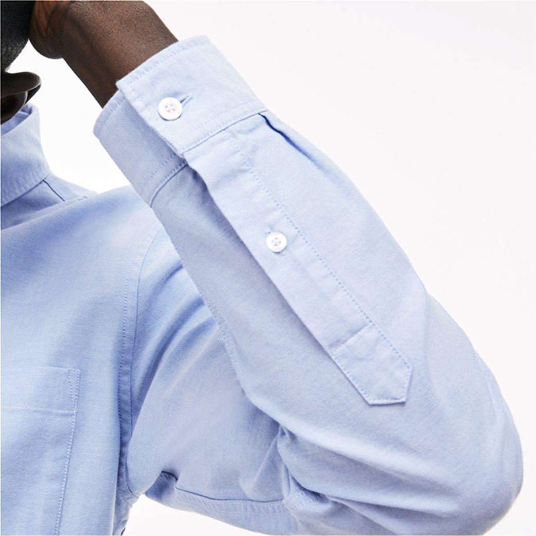 Ανδρικό πουκάμισο μονόχρωμο Spring Bloom Lacoste 5