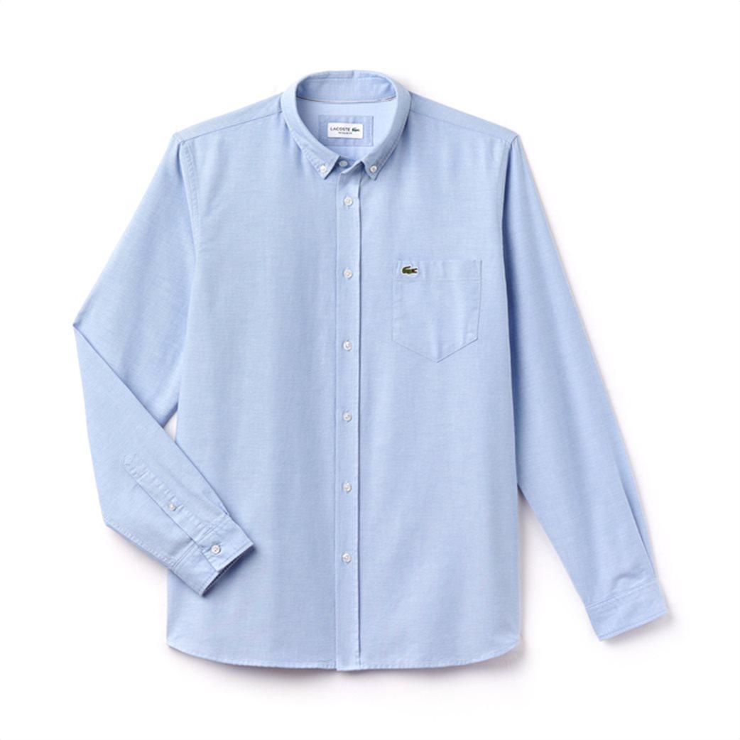 Ανδρικό πουκάμισο μονόχρωμο Spring Bloom Lacoste 6