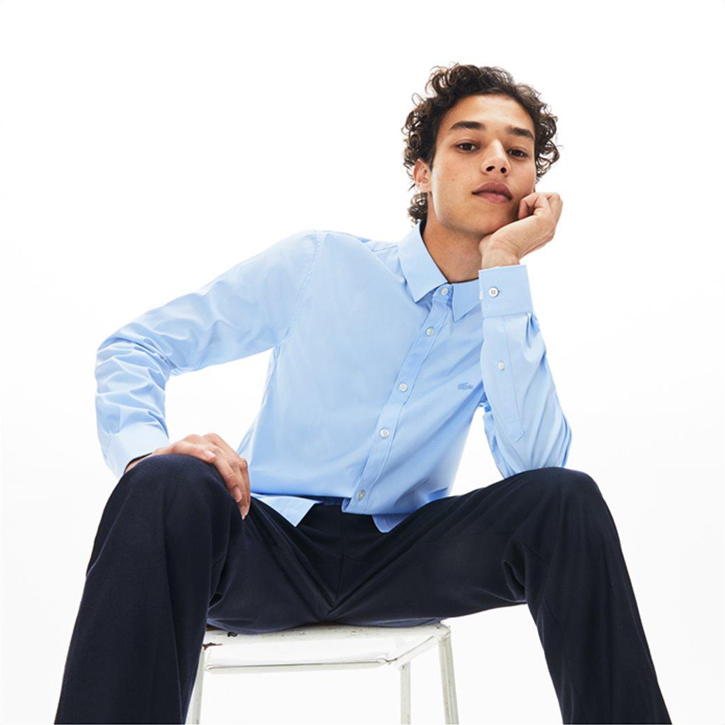 Lacoste ανδρικό μονόχρωμο πουκάμισο Slim Fit 2