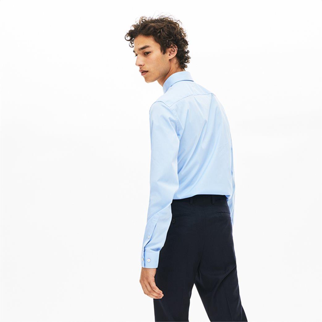 Lacoste ανδρικό μονόχρωμο πουκάμισο Slim Fit 3