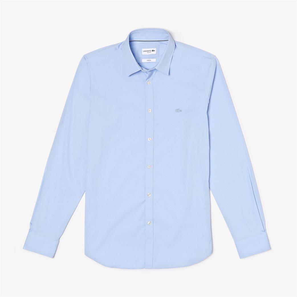 Lacoste ανδρικό μονόχρωμο πουκάμισο Slim Fit 5