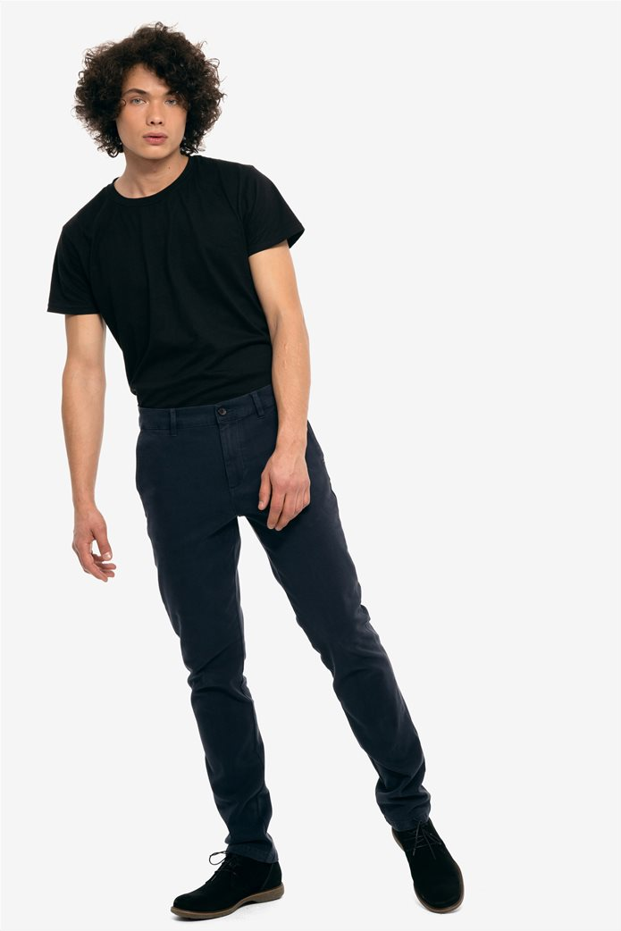 The Bostonians ανδρικό παντελόνι chinos slim fit 0