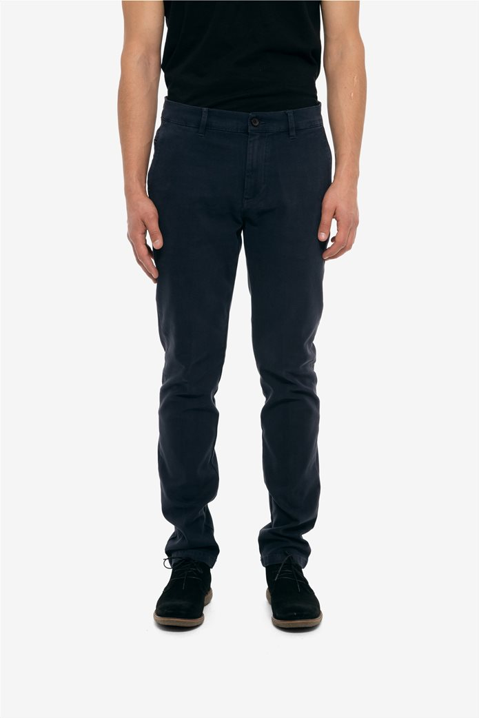 The Bostonians ανδρικό παντελόνι chinos slim fit 1