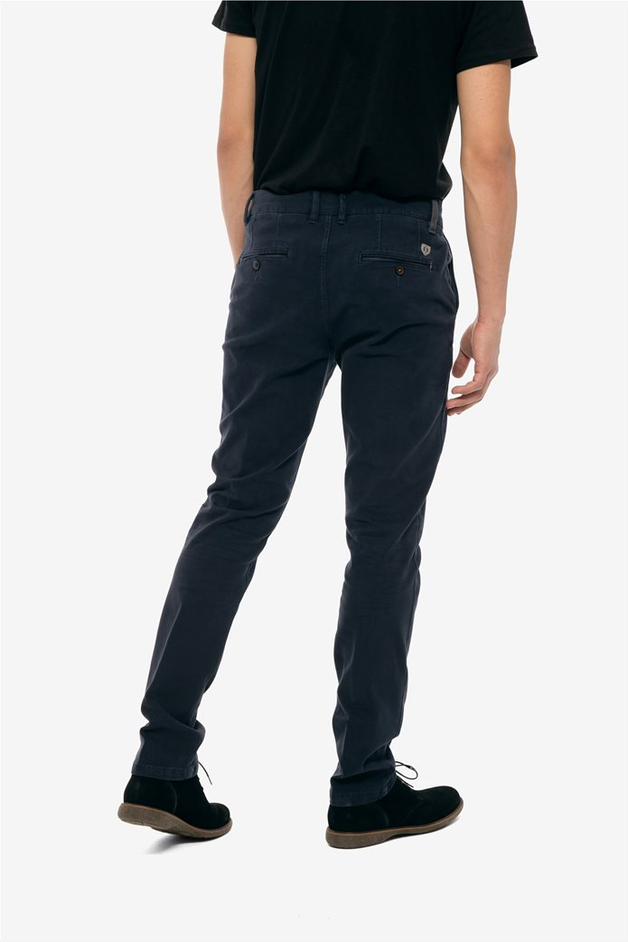 The Bostonians ανδρικό παντελόνι chinos slim fit 4