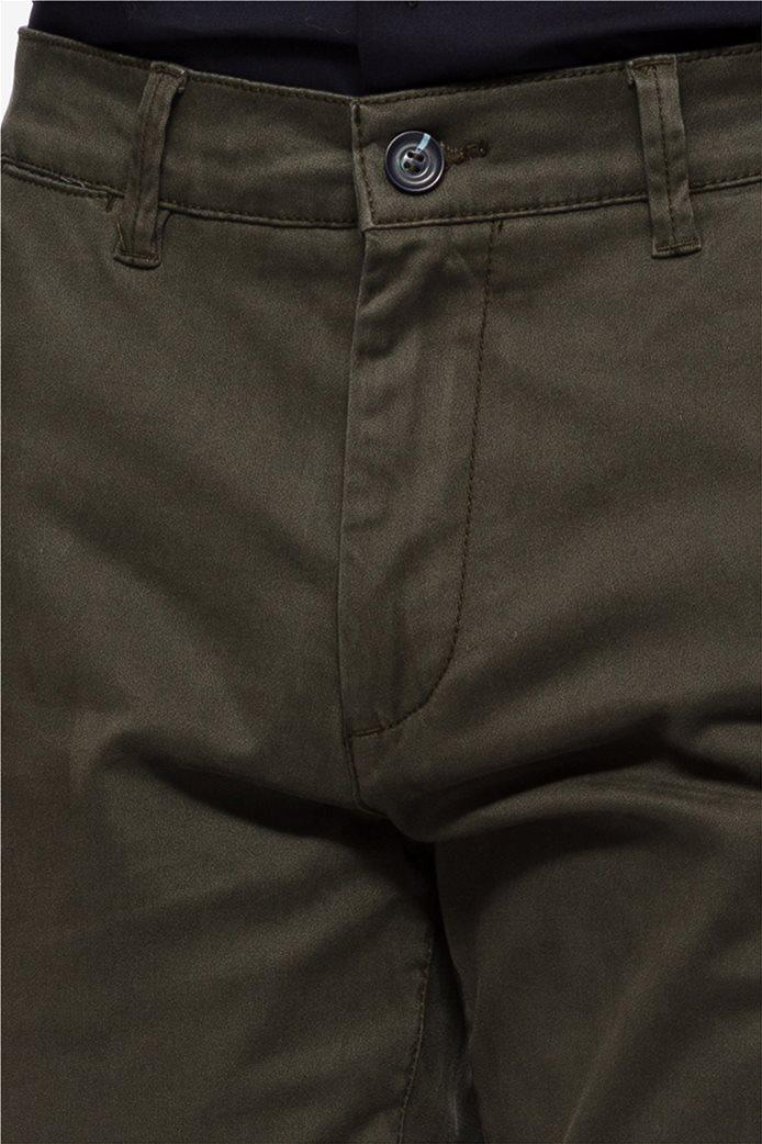 The Bostonians ανδρικό παντελόνι chino με τσέπες slim fit 4