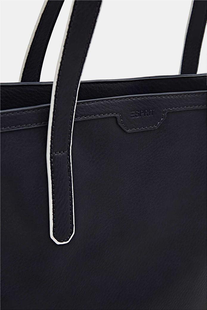 Esprit γυναικεία τσάντα ώμου ριγέ tape 3