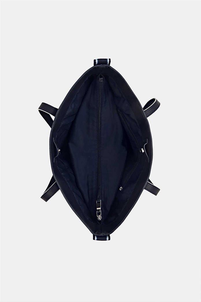 Esprit γυναικεία τσάντα ώμου ριγέ tape 4