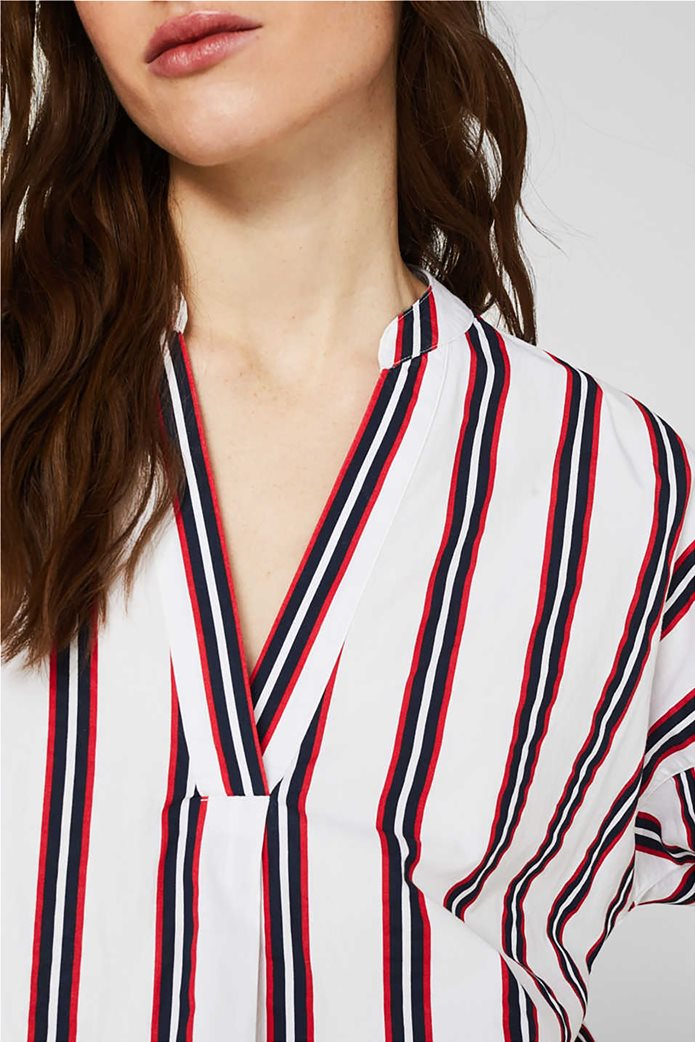 Esprit γυναικεία μπλούζα με V λαιμόκοψη 2