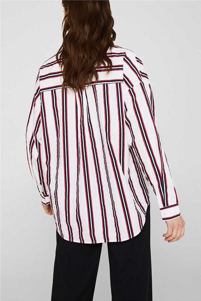Esprit γυναικεία μπλούζα με V λαιμόκοψη 3