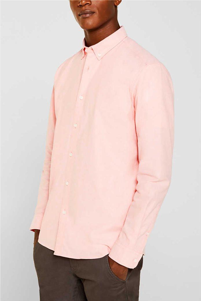 Esprit ανδρικό πουκάμισο με button-down γιακά Oxrford 0