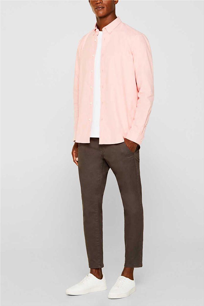 Esprit ανδρικό πουκάμισο με button-down γιακά Oxrford 1
