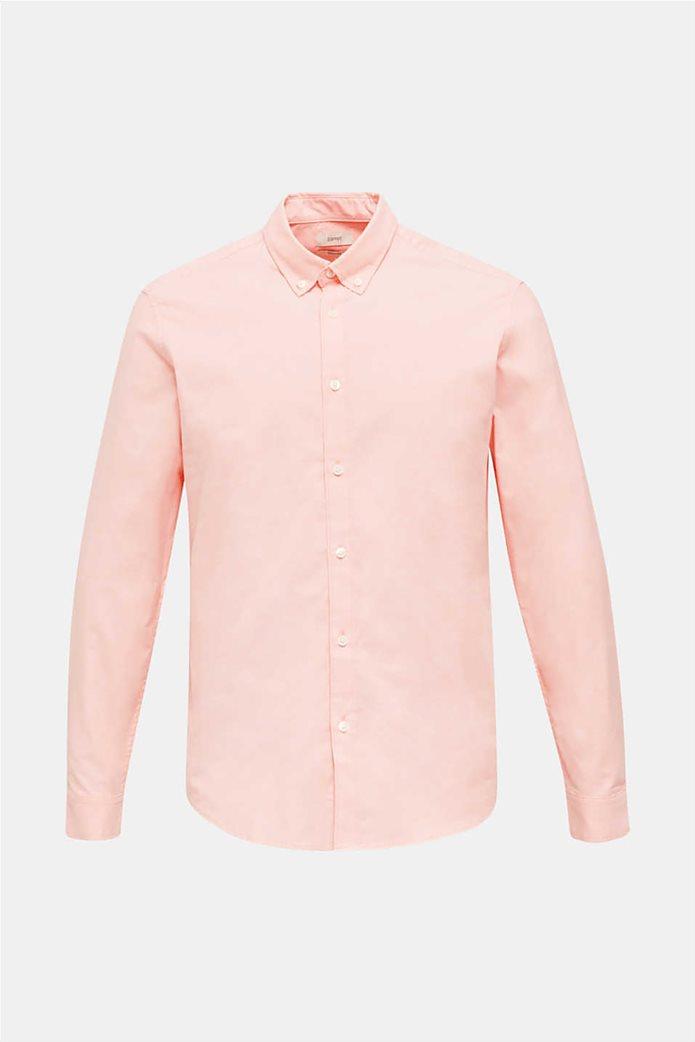 Esprit ανδρικό πουκάμισο με button-down γιακά Oxrford 5