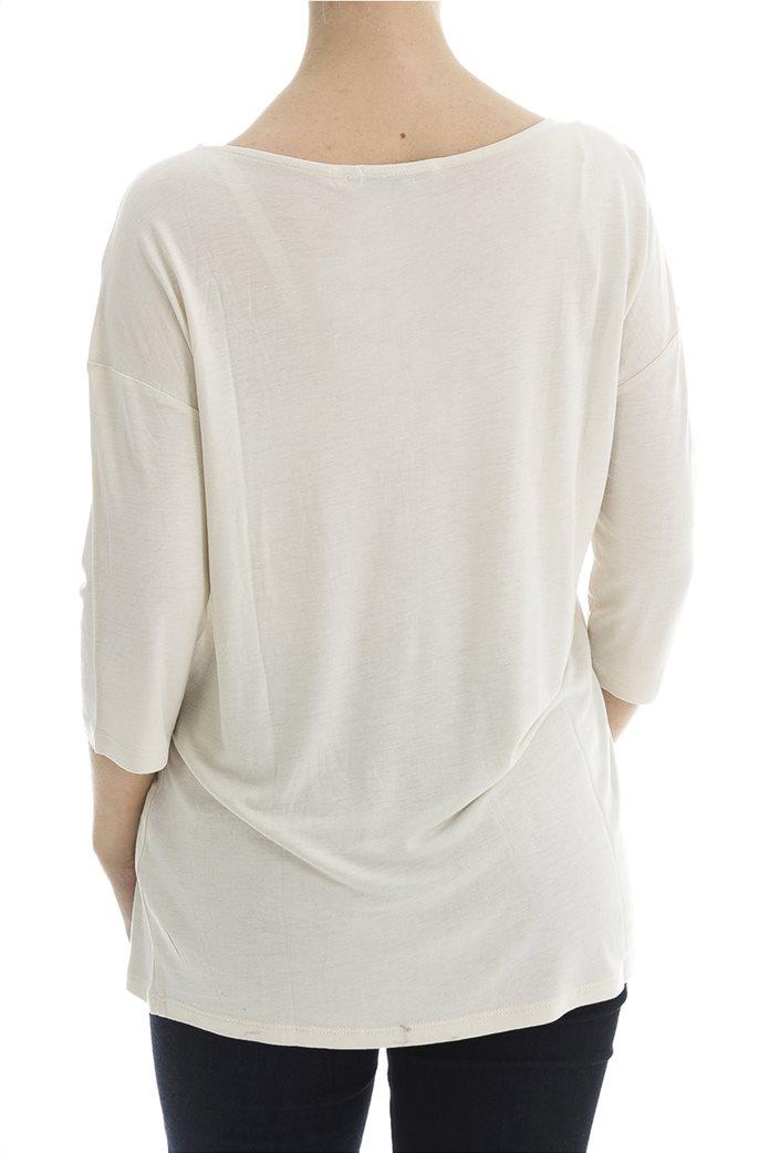 Esprit γυναικείο T-shirt με glitter print 1