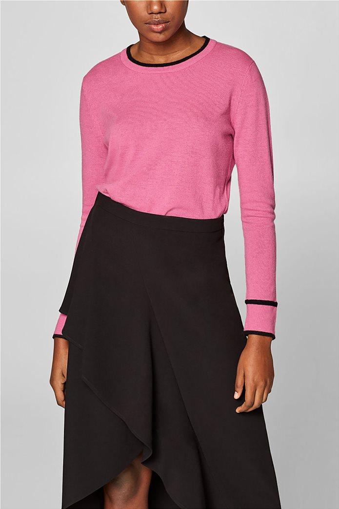 Desigual γυναικεία πλεκτή μπλούζα με κουμπιά 0