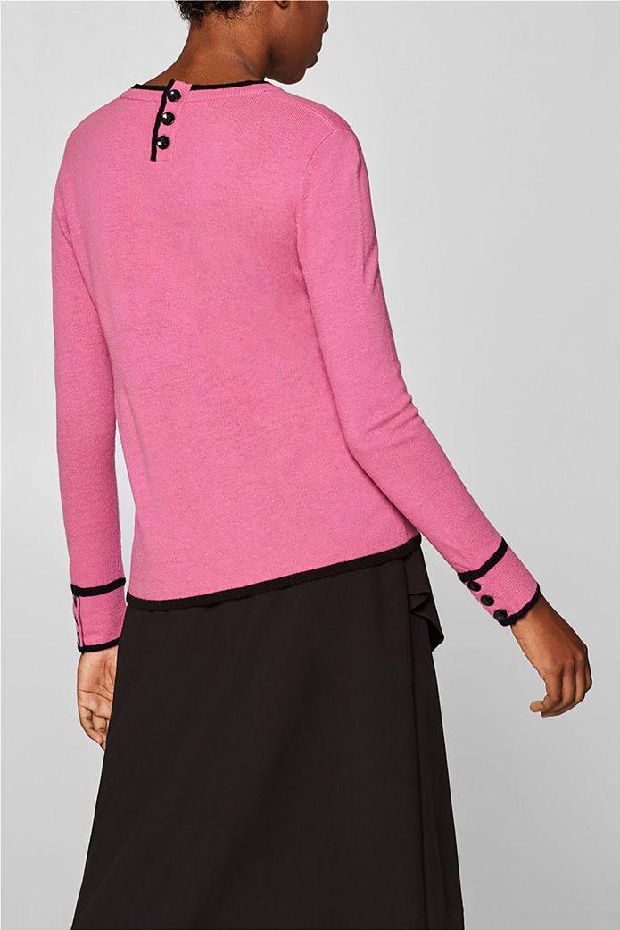 Desigual γυναικεία πλεκτή μπλούζα με κουμπιά 3