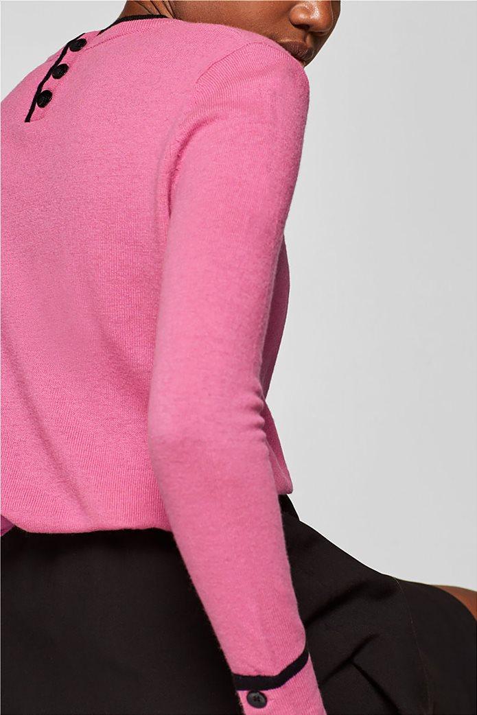 Desigual γυναικεία πλεκτή μπλούζα με κουμπιά 4