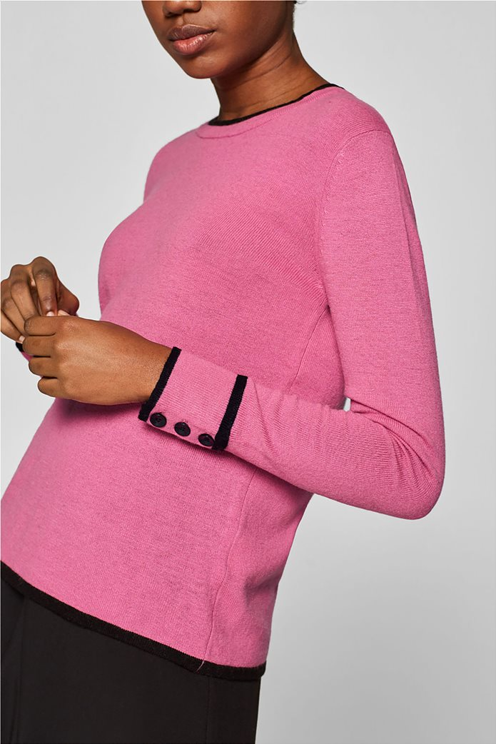 Desigual γυναικεία πλεκτή μπλούζα με κουμπιά 5