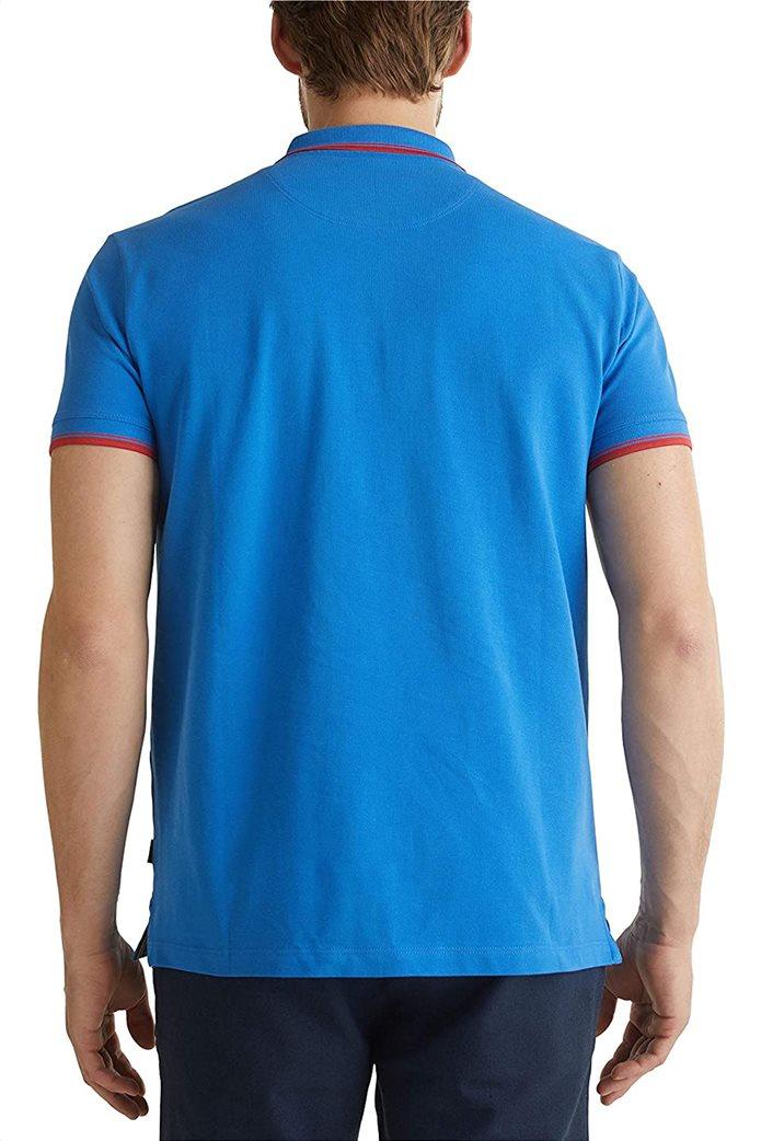 Esprit ανδρική polo μπλούζα με κεντημένο λογότυπο 1
