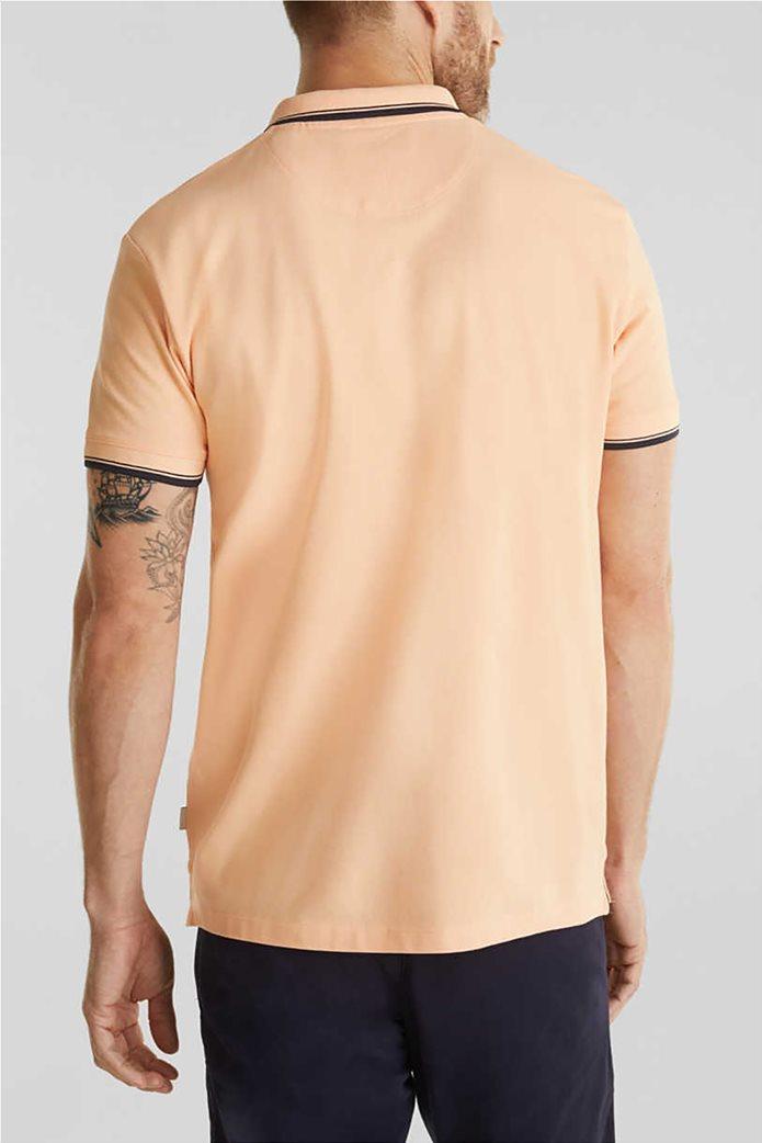 Esprit ανδρική polo μπλούζα με κεντημένο λογότυπο 2