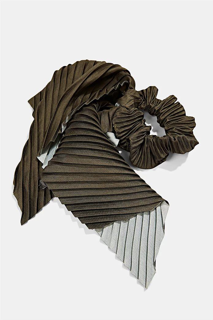 Esprit γυναικείο scrunchy με μαντήλι 1