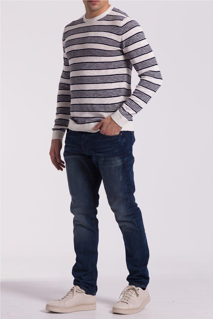 d22e3b598329 Ανδρική ριγέ πλεκτή μπλούζα Esprit 1