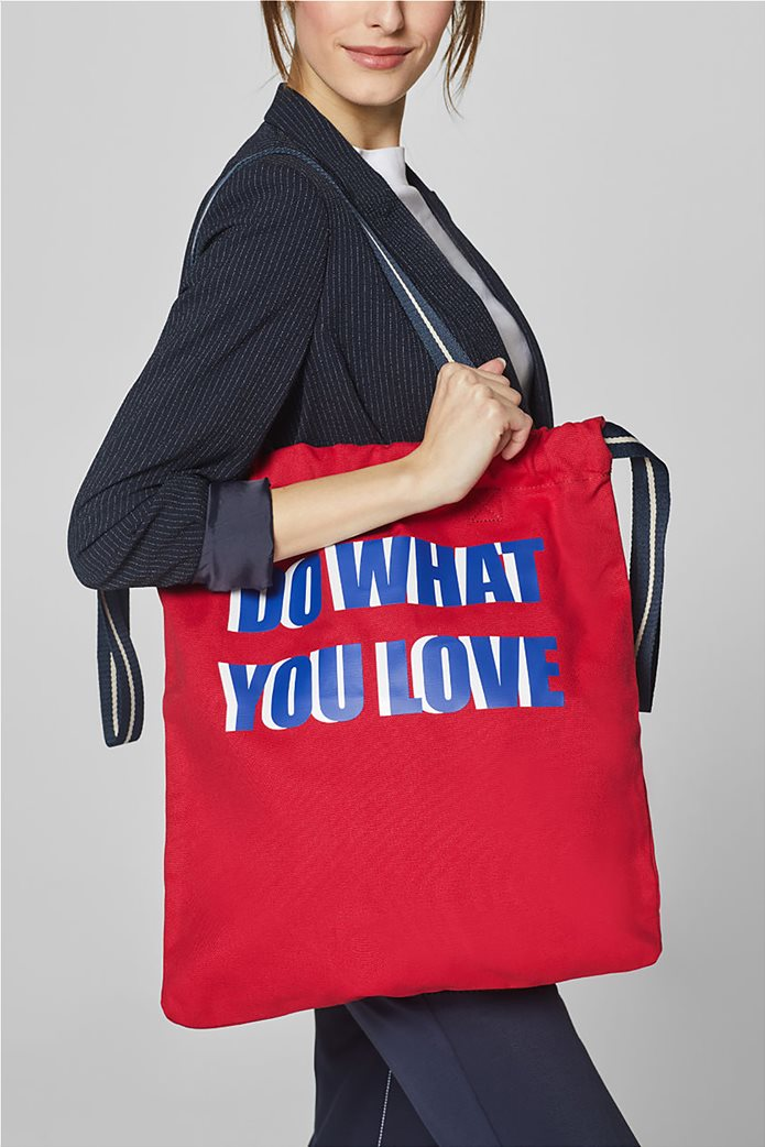 Esprit γυναικεία shopper τσάντα Canvas 1