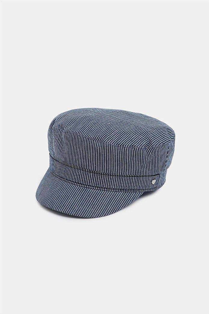 Esprit γυναικείo ναυτικό καπέλο με ρίγες 0