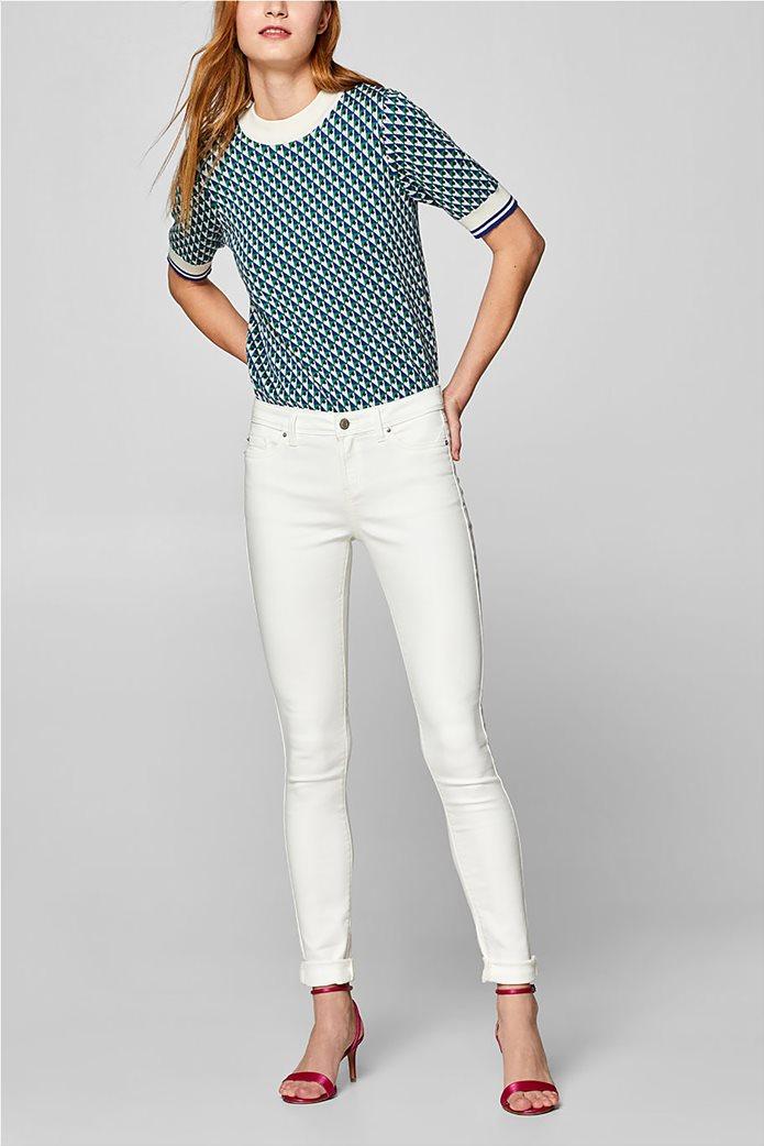 Esprit γυναικείο παντελόνι υφασμάτινο super stretch (32L) 0