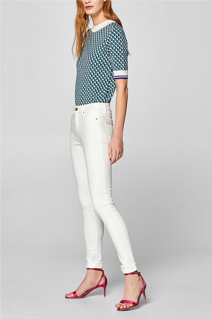 Esprit γυναικείο παντελόνι υφασμάτινο super stretch (32L) 5