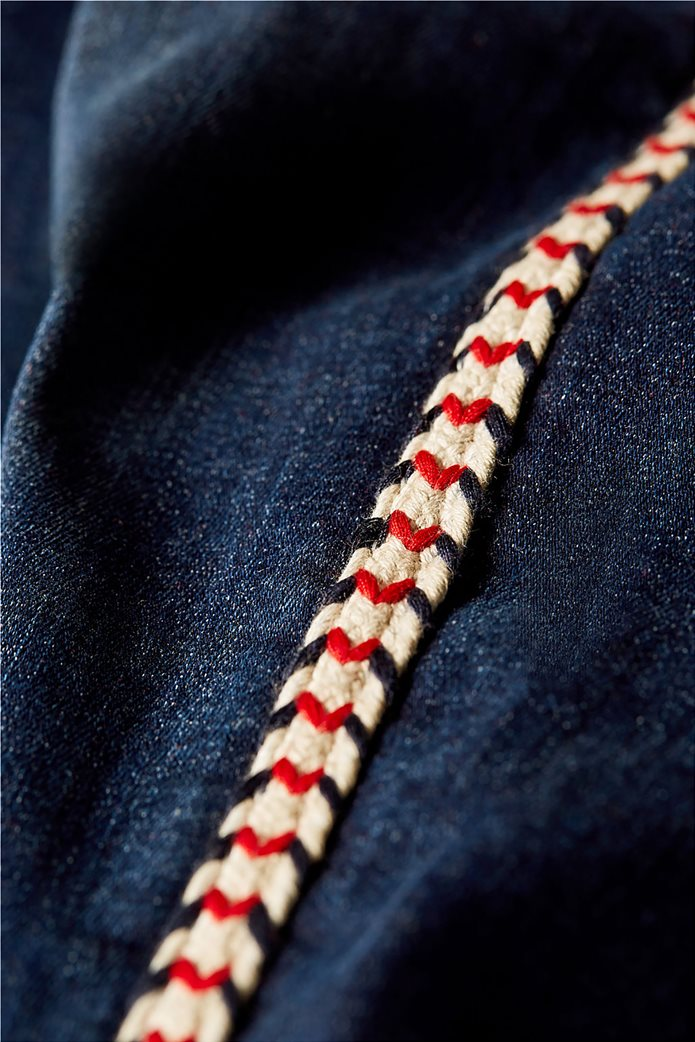 Esprit γυναικείο τζην παντελόνι με κορδόνι στο πλάι  (32L) 6