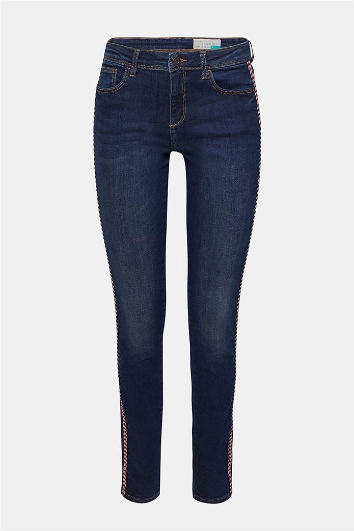 Esprit γυναικείο τζην παντελόνι με κορδόνι στο πλάι  (32L) 7